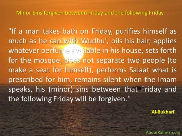 Minor-Sins-Forgiven-Friday-Prayer