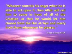 Let him choose from the Hur al-'Ayn