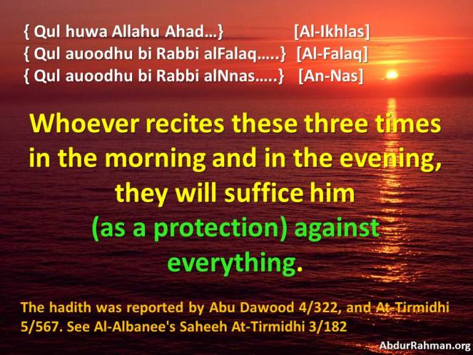 They will suffice him (as a protection) against everything
