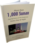 More than 1000 Sunan (sayings & acts of the Prophet) Every day & night