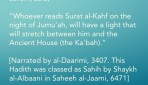 Day of Jumu'ah – Ask Allaah for Anything in the Last Hour after 'Asr